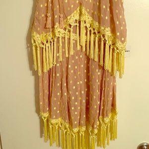 Free People Tassle Dress
